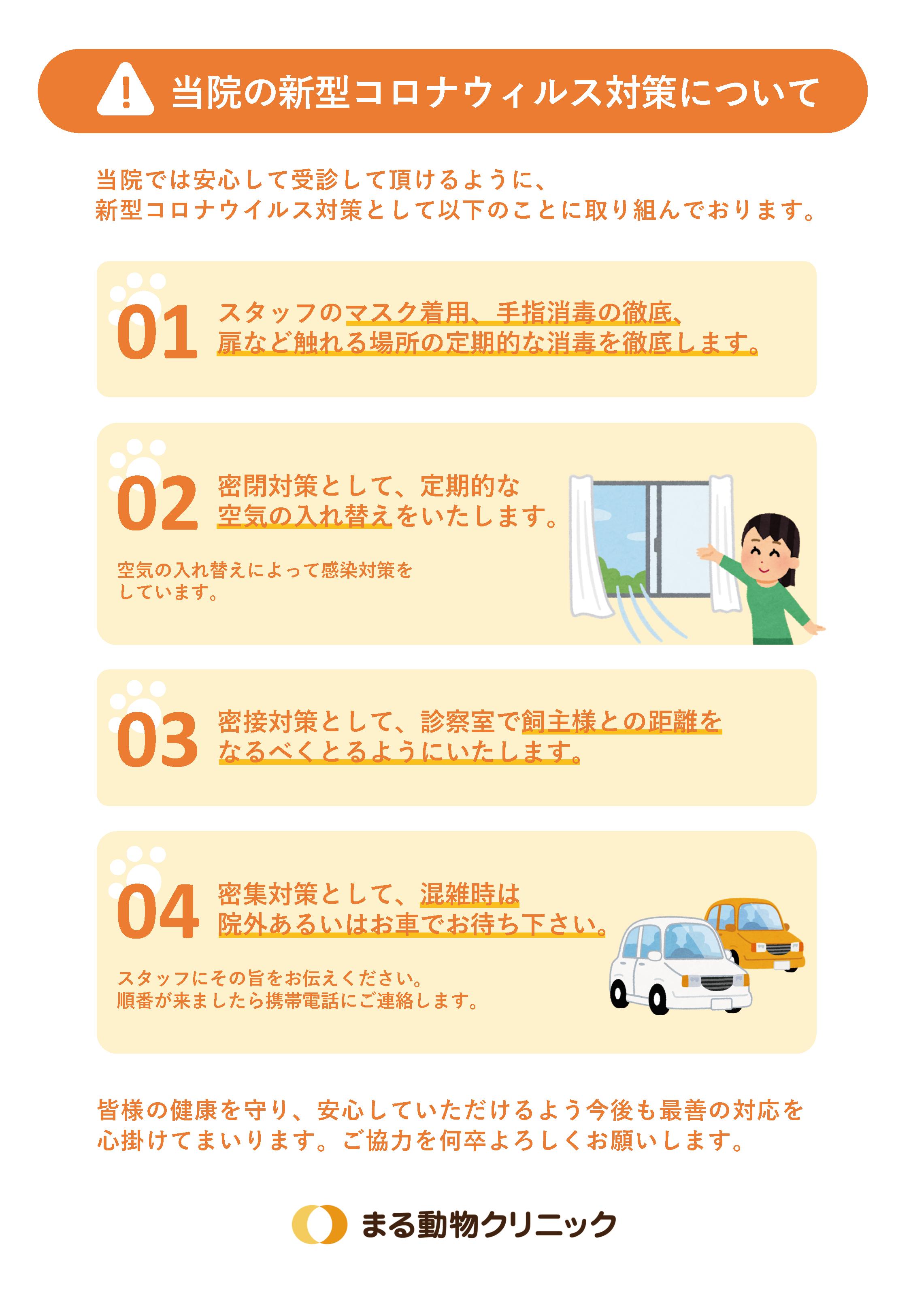 動物病院向け 【新型コロナウイルス対策ツール】