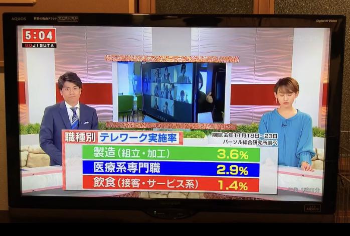 テレビ愛知様取材